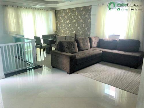 Imagem 1 de 15 de Excelente Sobreposta  3 Dormitórios 3 Suítes Vila Belmiro Santos - 2817