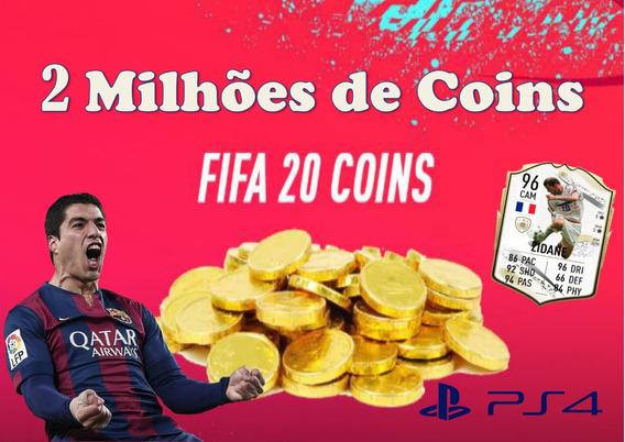 2 Milhões De Coins Fifa 20 Ps4