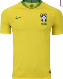 Camisa Nike Seleção Brasileira I 2018