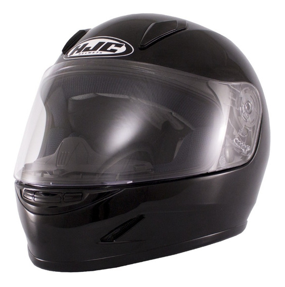 Casco Integral Hjc Cs-15 Solid Negro Importado