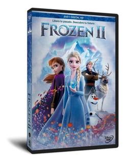 Frozen 2 (2020) Dvd Español Latino / Inglés