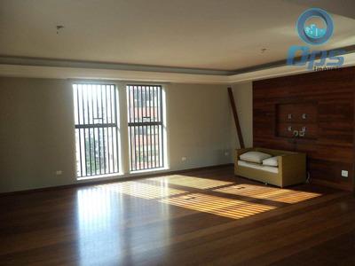 Apartamento Com 4 Dorms, Boqueirão, Santos - R$ 1.850.000,00, 294m² - Codigo: 4656 - V4656
