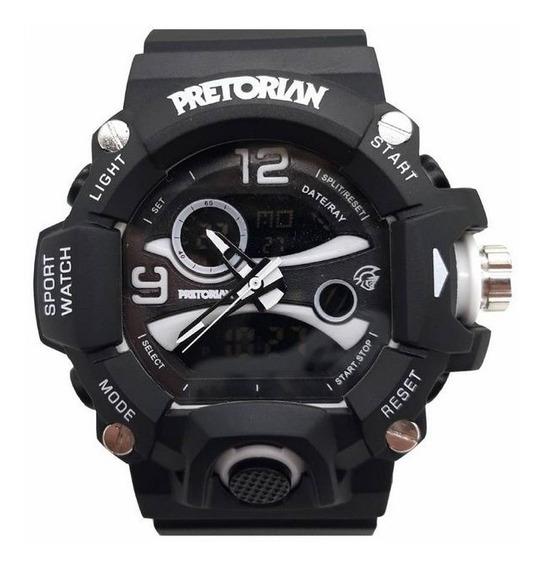Relógio Pretorian Guard Black/ White ( Wprt-03-1)