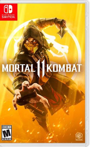 Mortal Kombat 11 En Nintendo Switch Nuevo Y Sellado.