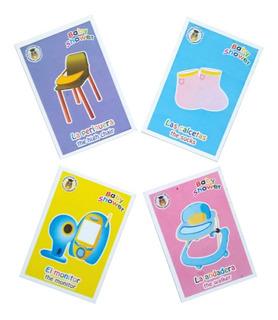 Lotería Baby Shower Fiesta Diversión
