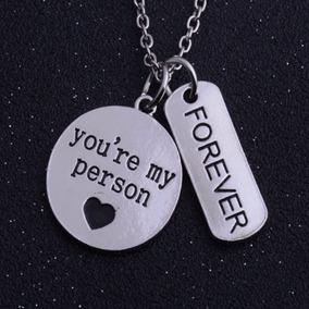 Promoção!! Cordão Colar Greys Anatomy You Are My Person