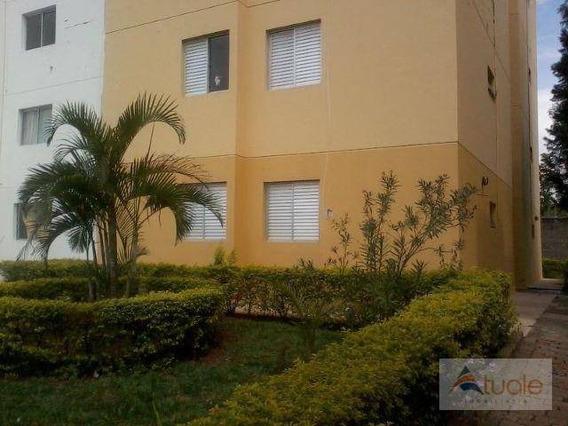 Apartamento Com 3 Dormitórios À Venda, 72 M² - Parque Yolanda (nova Veneza) - Sumaré/sp - Ap6077