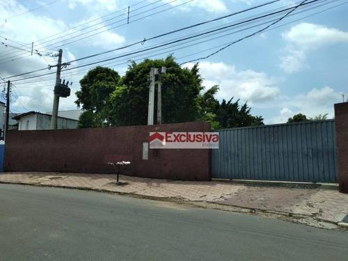 Chácara Para Alugar, 4000 M² Por R$ 7.000,00/mês - Recanto Santa Catarina - Paulínia/sp - Ch0053