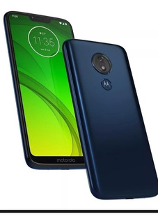 Moto G 7 Power 64 Gigas Dual Chip, Azul