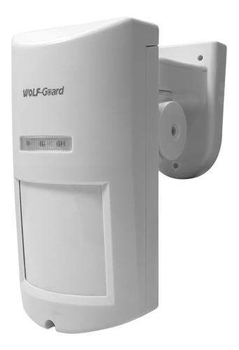 Pir Inalámbrico Exterior Sensor Alarmas 433mhz Wolfguard
