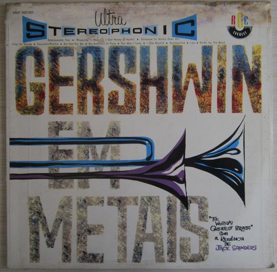 Lp Gershwin Em Metais