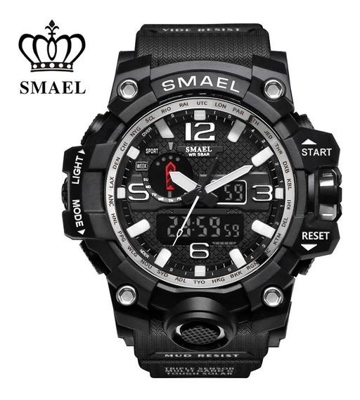 Relógio Masculino Esportivo Militar Smael 1545 Original
