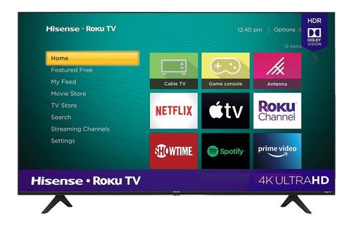 Pantalla Hisense Smart Tv 50 Pulgadas Roku 4k Hdr 50r6090g5
