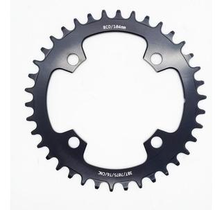 Engranaje Bicicleta Shun Mtb Narrow 30t 104 Bcd Alum Cnc Rb