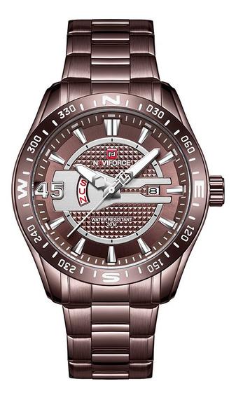 Relógio Masculino Naviforce 9157 Esportivo Lançamento