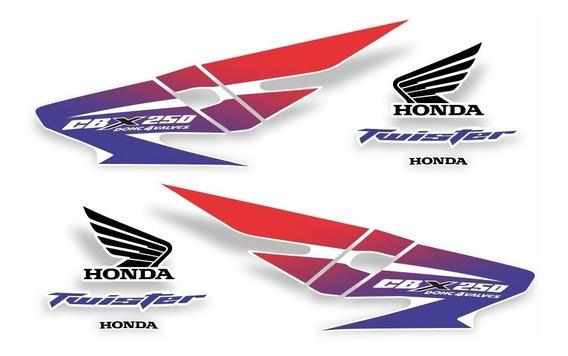 Kit Adesivo Honda Cbx 250 Twister Branca Argentina Cbx250ba