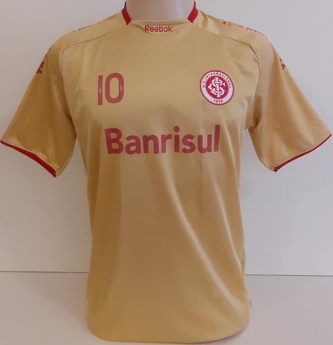 Camisa Do Internacional Original Centenário Dourada 2009  Ct