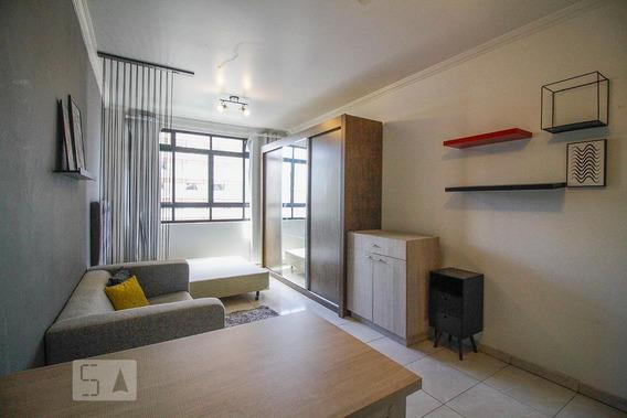 Apartamento Para Aluguel - Higienópolis, 1 Quarto, 26 - 893053658