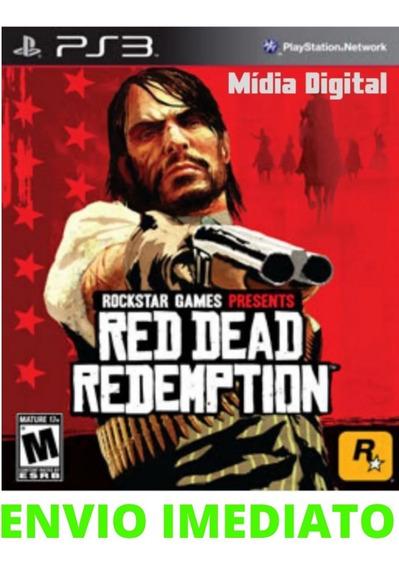 Jogo Red Dead Redemption Ps3 Original Midia Digital