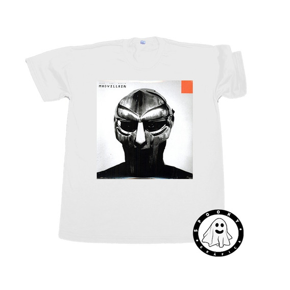 Remera Madvillian - Madvillainy Algodón Rap Hip Hop