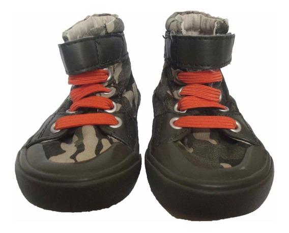 Botitas Botas Zapatillas Old Navy Niño Nene Sneakers Camufladas 12/18m