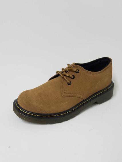 Zapato Dr Martens Gamuza Caramelo Marron Nene Nena