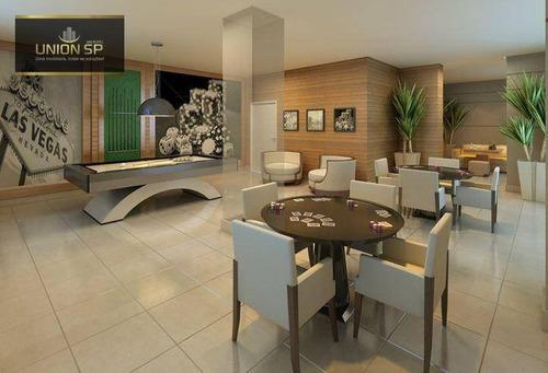 Imagem 1 de 9 de Apartamento Com 2 Dormitórios À Venda, 67 M² Por R$ 521.130,00 - Sacomã - São Paulo/sp - Ap50916