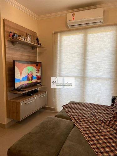 Apartamento Com 2 Dormitórios À Venda, 58 M² Por R$ 268.000 - Vossoroca - Votorantim/sp - Ap1137