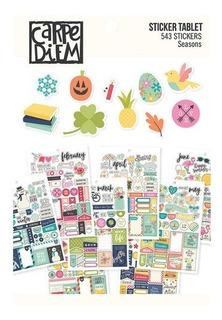 Mini Libro De Sticker Carpe Diem Seasons