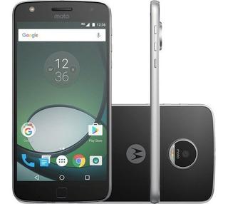 Motorola Moto Z Play Xt1635 C/ Soundboost Jbl 32gb - Vitrine