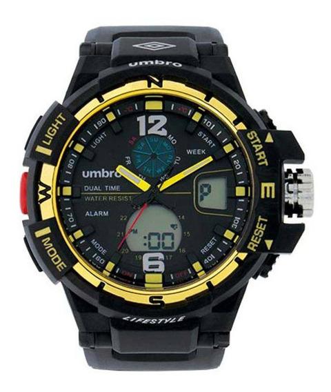 Relógio Umbro Masculino Umb-012-4 C/ Garantia E Nf