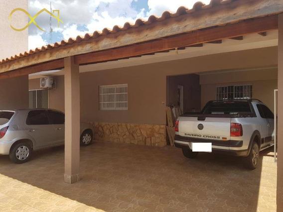 Casa Residencial À Venda, 200 M² - Alto De Pinheiros - Paulínia/sp - Ca1563