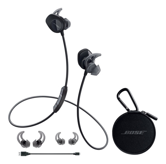 Fone Bose Soundsport Bluetooth Wireless Novissimo + Case