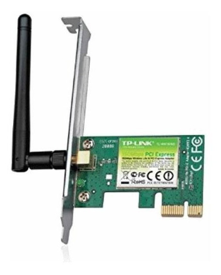 Placa Wireless Tp-link Tl-wn781nd P.redw 150mbps Pcie 1x