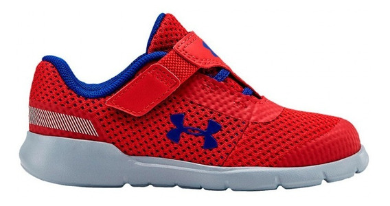 Zapatillas Under Armour Surge Rn B Vc Infante Rojo