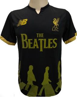 Camisa Beatles Liverpool Homenagem Bordada Promoção