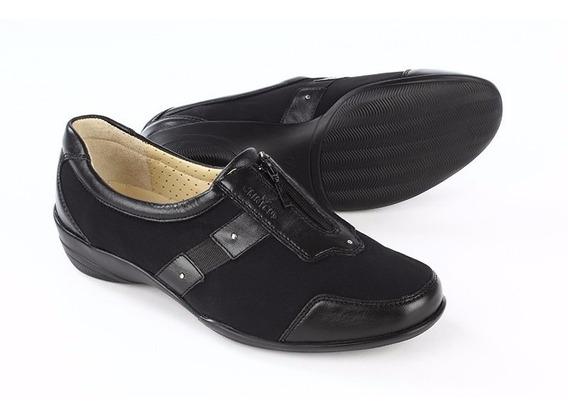 Mocasin Onena 9109 Negro Clinicus Damas Zapatos