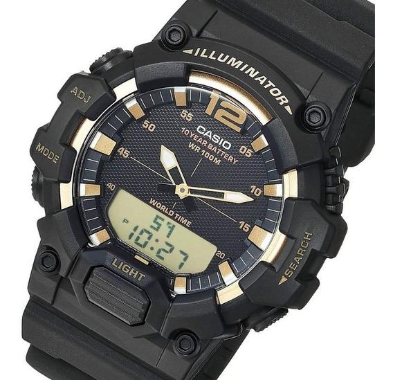 Relogio Casio Hdc700 Anadig Original Crono Timer Orig Hdc700