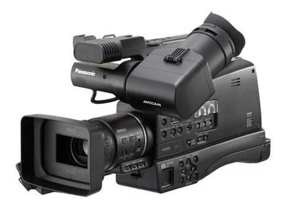 Filmadora Panasonic Ag-hmc80p + Tripé + Mic Sem Fio + Case!