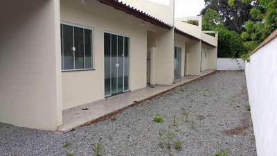 Casa Em Rosa Dos Ventos, Itapoá/sc De 50m² 2 Quartos À Venda Por R$ 130.000,00 Ou Para Locação R$ 650,00/mes - Ca176411