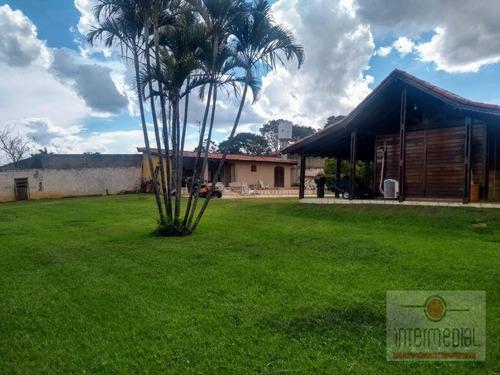 Chácara Com 3 Dormitórios À Venda, 1218 M² Por R$ 680.000,00 - Tropicalia Park - Boituva/sp - Ch0633