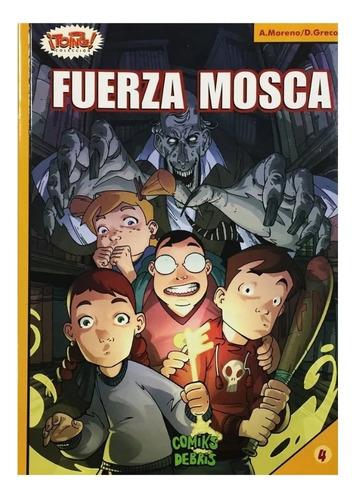 Fuerza Mosca - Comik Debris - Cazafantasmas - Ghostbusters