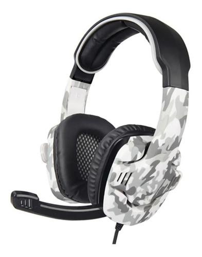 Auricular Headset Gamer Sades Sa708 Gt Camo Ps4 Xbox