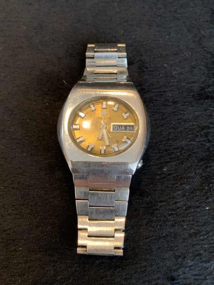 Relógio Tressa Automático Antigo Mod 528 Coleção Raro Pulso