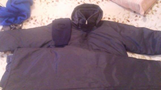Campera Y Pantalon De Frio Azul!!!
