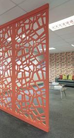 Divisor Separador De Ambientes Decorativo Biombos Ambiente