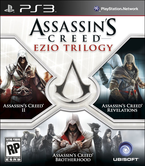Assassins Creed Ezio Trilogy Seminovo! Loja Física!
