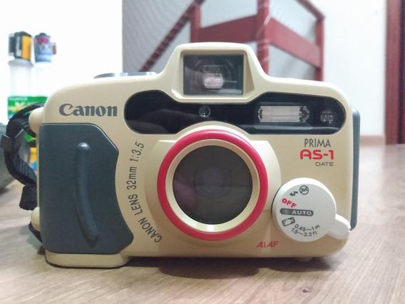 Câmera Analógica Subaquática Filme 35mm Canon As1
