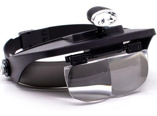 Lupa Oculos Relojoeiro Eletronica Celular Aumento 25x