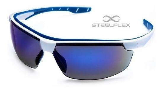Óculos Sol Masculino Esportivo Steeflex Anti Embaçante Risco